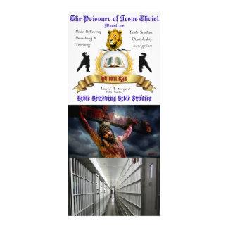 Prison Ministry 4 Inch x 9 Inch Prayer Card