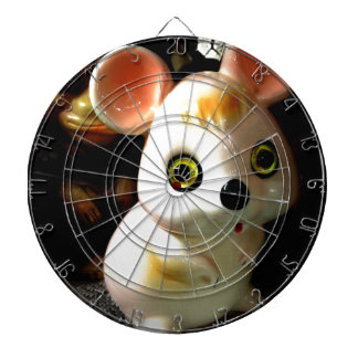 Prison Mouse (and Monkey) Dartboard With Darts