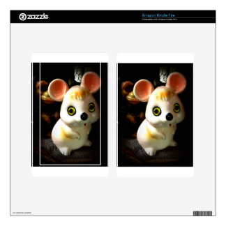 Prison Mouse (and Monkey) Decals For Kindle Fire