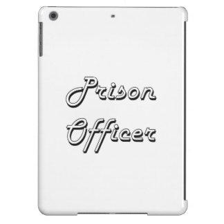 Prison Officer Classic Job Design iPad Air Cover