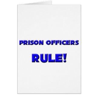 Prison Officers Rule! Card