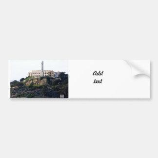 Prison On The Island of Alcatraz Bumper Stickers