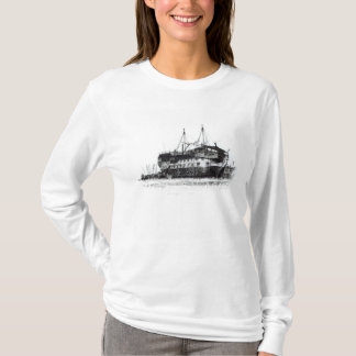 Prison Ship in Portsmouth Harbour T-Shirt