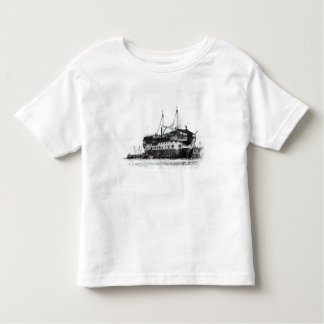 Prison Ship in Portsmouth Harbour Tee Shirt