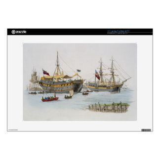 Prison Ships, from 'Costume of Great Britain', pub Decal For Laptop