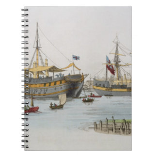 Prison Ships, from 'Costume of Great Britain', pub Spiral Note Books