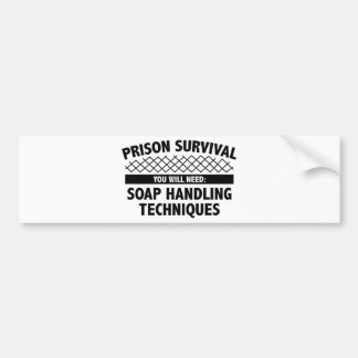 Prison Survival Bumper Sticker