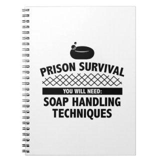 Prison Survival Notebook