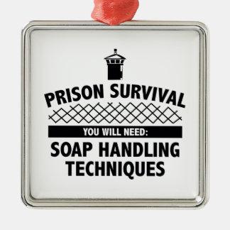 Prison Survival Ornament
