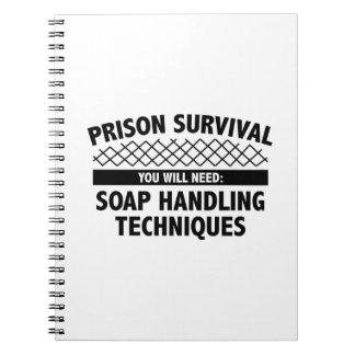 Prison Survival Spiral Notebook