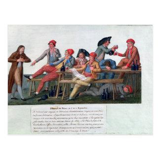 Prison Tribunal of 2 & 3 September, 1792 Postcard