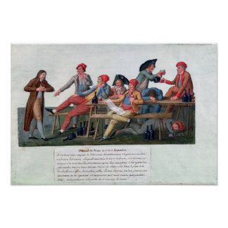 Prison Tribunal of 2 & 3 September, 1792 Poster