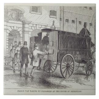 Prison Van taking up Prisoners at the House of Det Tile