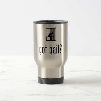 Prisoner 15 Oz Stainless Steel Travel Mug