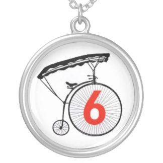 Prisoner Number 6 necklace