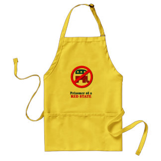 Prisoner of a Red State Adult Apron