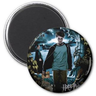 Prisoner of Azkaban - French 3 2 Inch Round Magnet