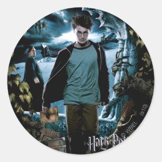 Prisoner of Azkaban - French 3 Classic Round Sticker