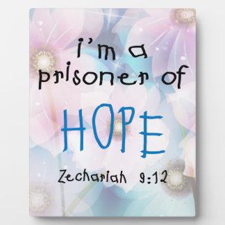 Prisoner of Hope Photo Plaque