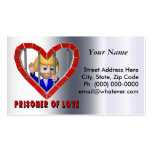 Prisoner Of Love Double-Sided Standard Business Cards (Pack Of 100)