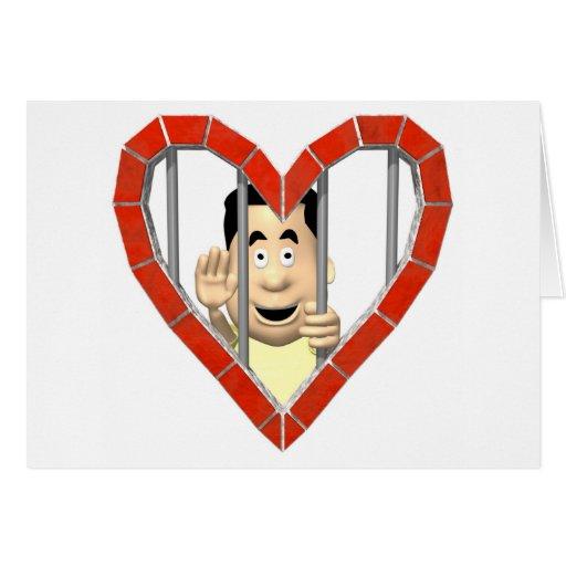 Prisoner of Love Card
