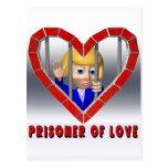 Prisoner Of Love Postcard