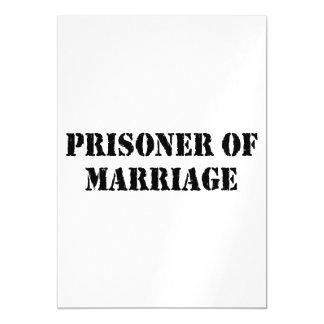 Prisoner of Marriage Magnetic Card