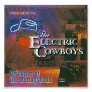 Prisoner of the Honky Tonk Album Poster