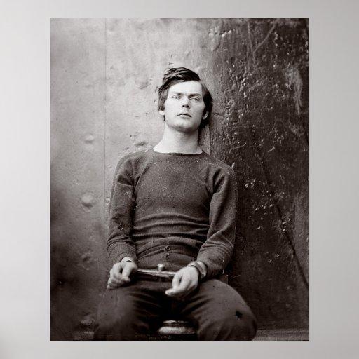 Prisoner Portrait, 1865 Posters