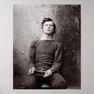 Prisoner Portrait, 1865. Vintage Photo Poster