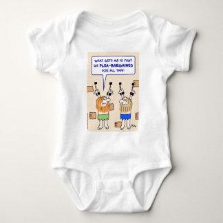 prisoners dungeon plea-bargained baby bodysuit