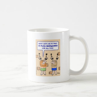 prisoners dungeon plea-bargained mugs