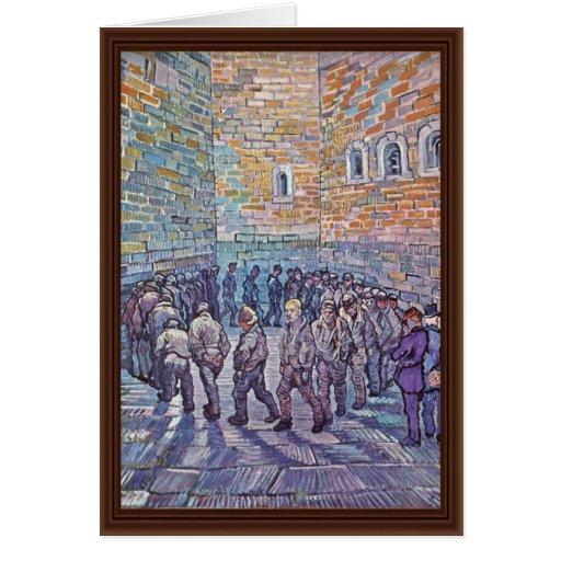 Prisoners Exercising (After Doré) Card