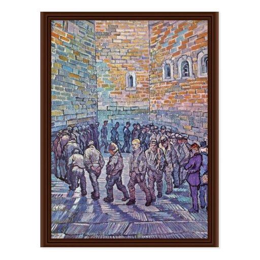 Prisoners Exercising (After Doré) Postcards
