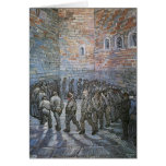 Prisoners Exercising by Vincent van Gogh Greeting Cards
