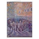 Prisoners Exercising Card