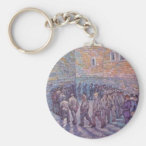 Prisoners Exercising Key Chain