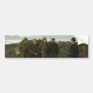 Prisoners from the Front by Winslow Homer 1866 Bumper Stickers