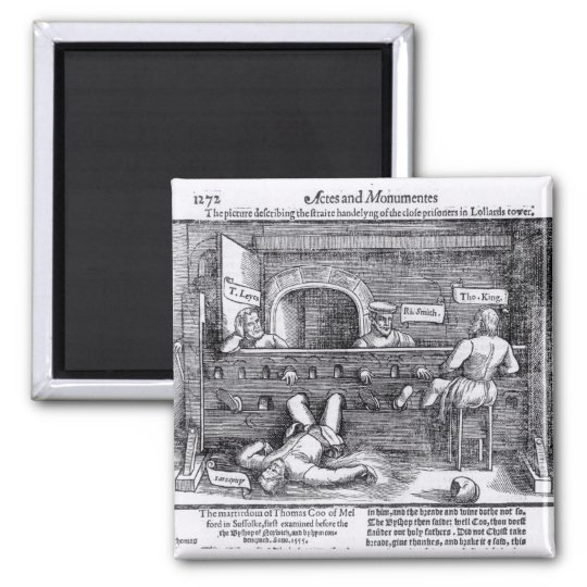 Prisoners in the Lollards' Tower Magnet