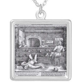 Prisoners in the Lollards' Tower Silver Plated Necklace