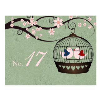 Prisoners of Love Table Number Card