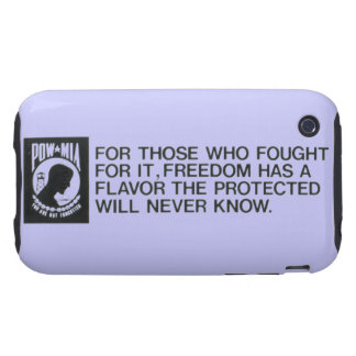 Prisoners Of War, Missing in Action iPhone 3G/3GS iPhone 3 Tough Covers