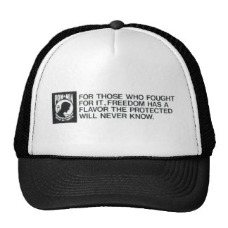 Prisoners Of  War, Missing in Action Trucker Hat