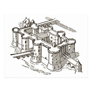 prisonParis del Bastille Tarjeta Postal
