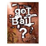 PrisonSong - Got Bail? Postcard
