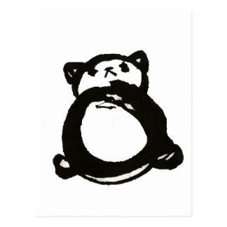 Prissy Panda Postcard