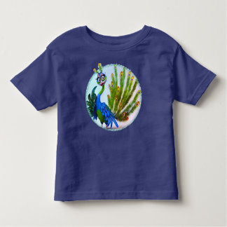 Prissy Peacock Toddler Tshirt