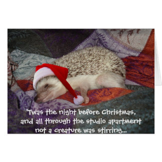 prissy_santa, 'Twas the night before Christmas,... Card
