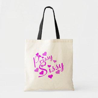Prissy Sissy Canvas Bags