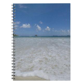 Pristine Tropical White Beach Note Book